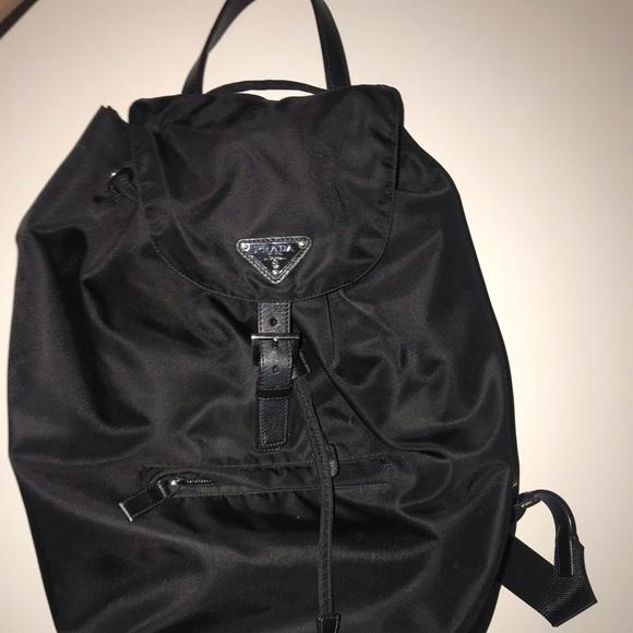 Prada Handbags - Prada Backpack. So cute!